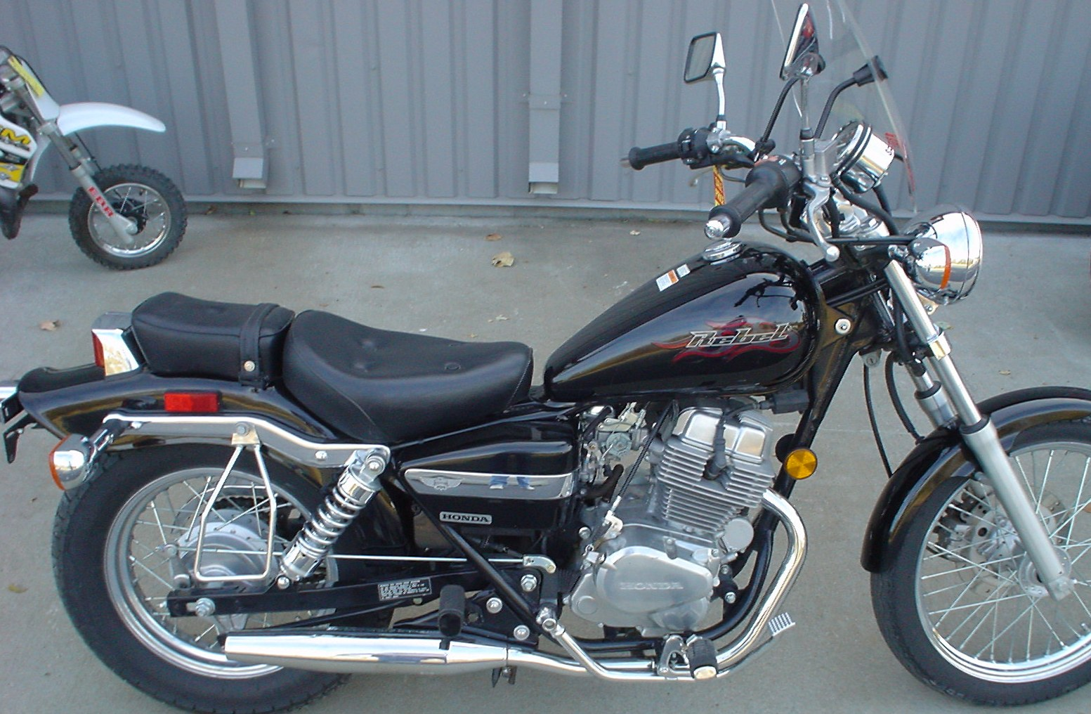 Honda rebel photo - 2
