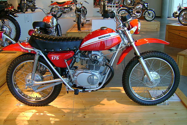 Honda sl175 photo - 1