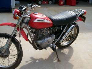 Honda sl175 photo - 3