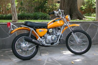 Honda sl70 photo - 2