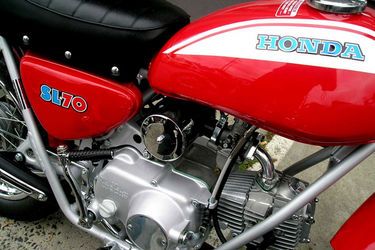 Honda sl70 photo - 3