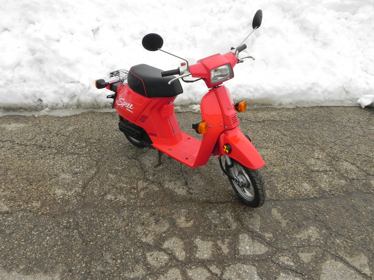 Honda spree photo - 3