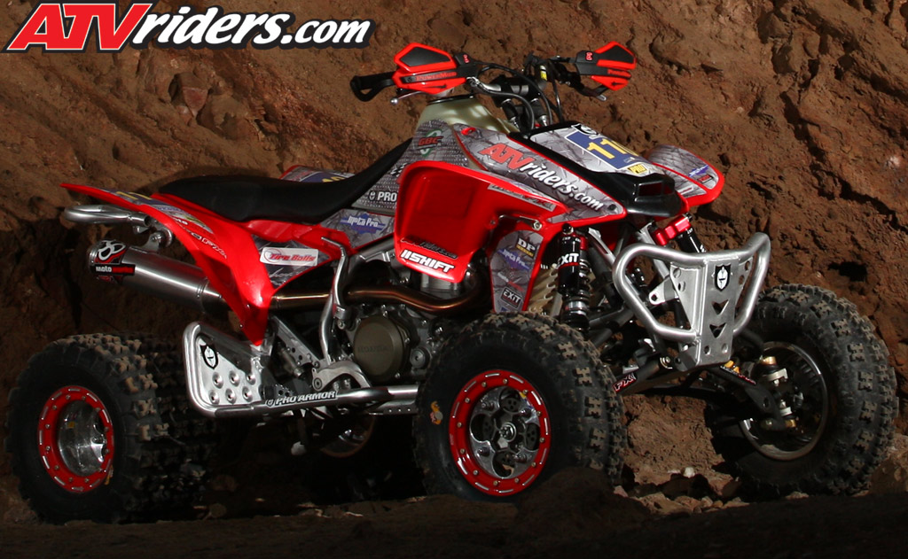 Honda trx450r photo - 1