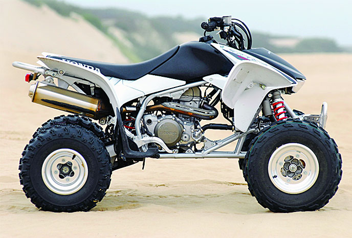 Honda trx450r photo - 3
