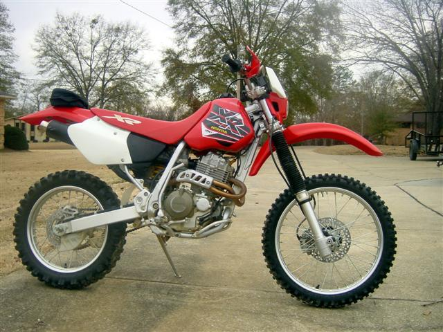 Honda xr photo - 1