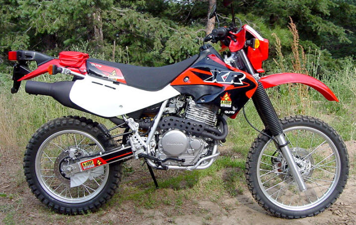 Honda xr650l photo - 1