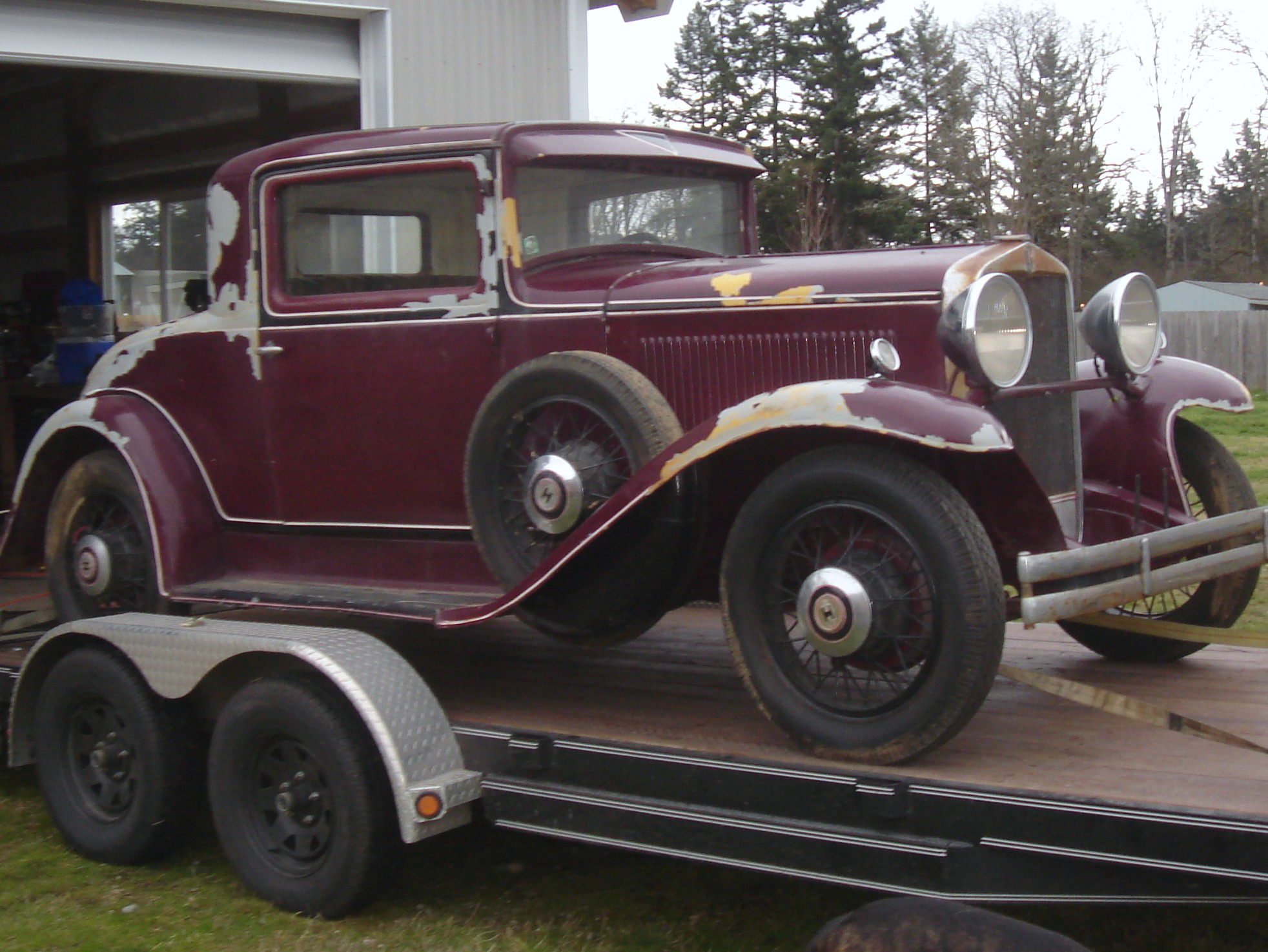 Hupmobile coupe photo - 2