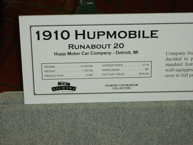 Hupmobile runabout photo - 4