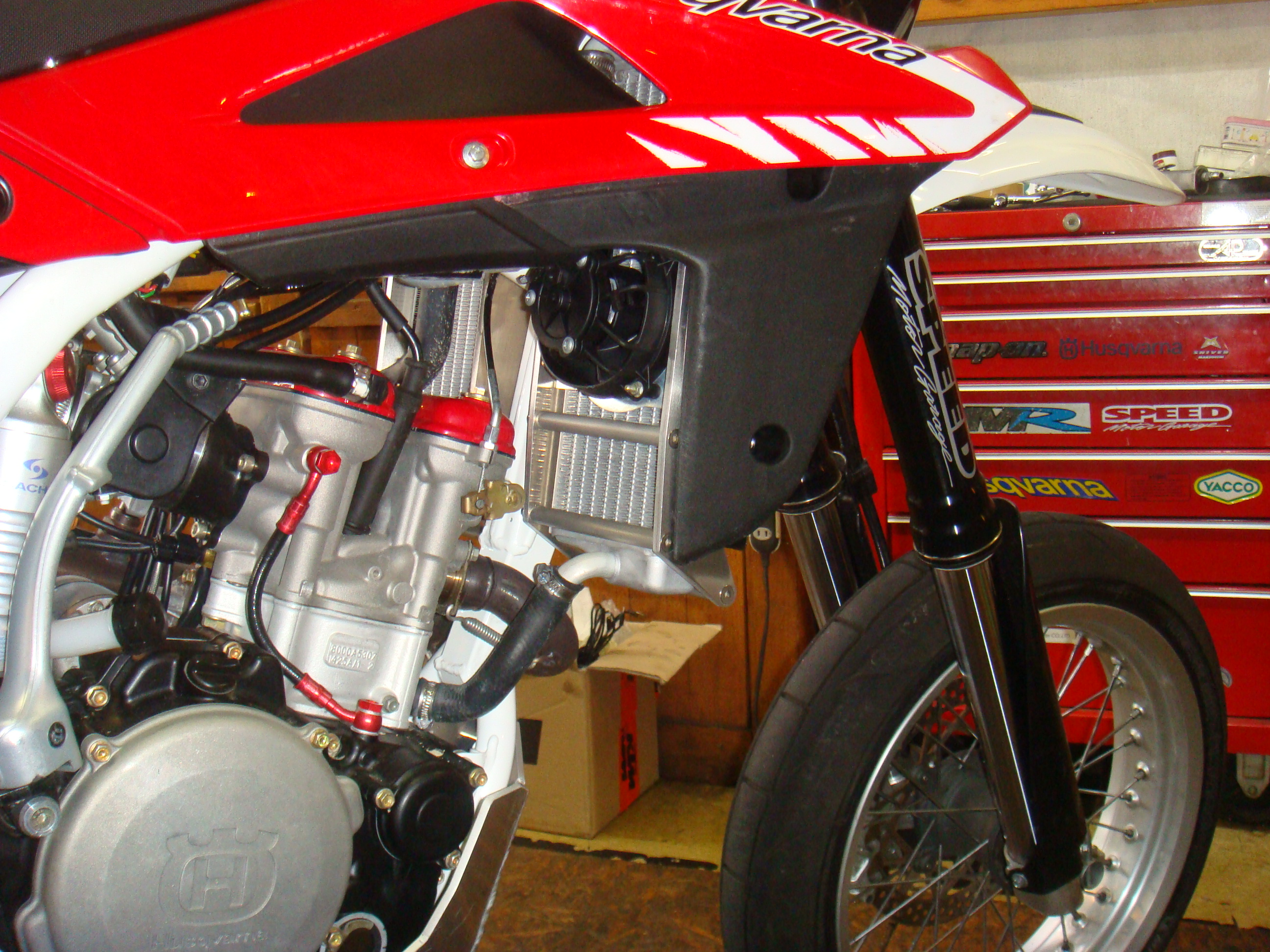 Husqvarna te250 photo - 2