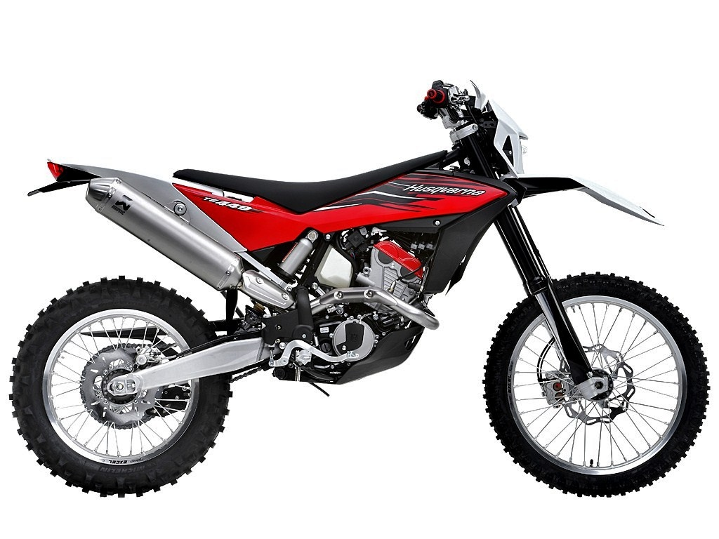 Husqvarna te449 photo - 3