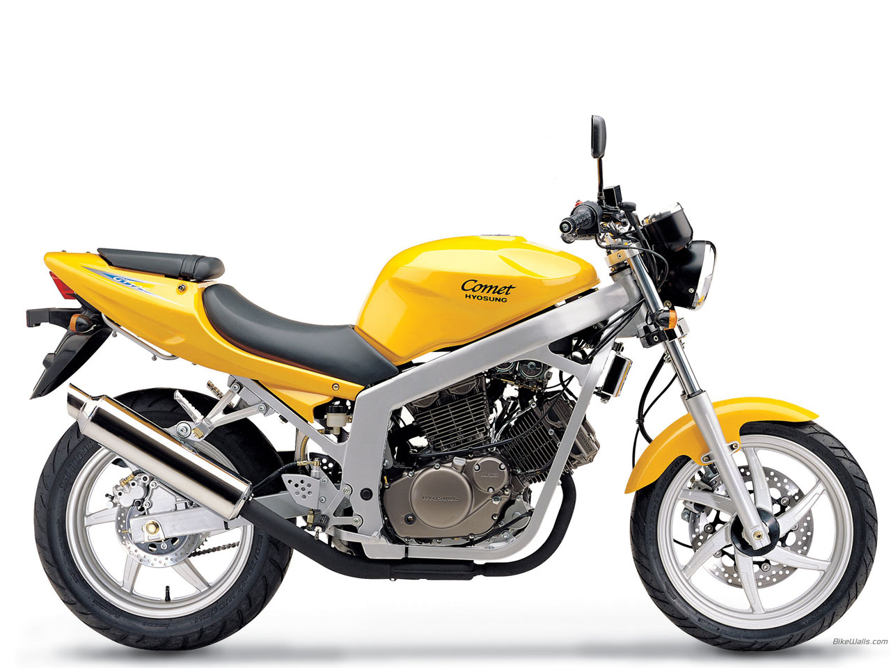 Hyosung gt125 photo - 2