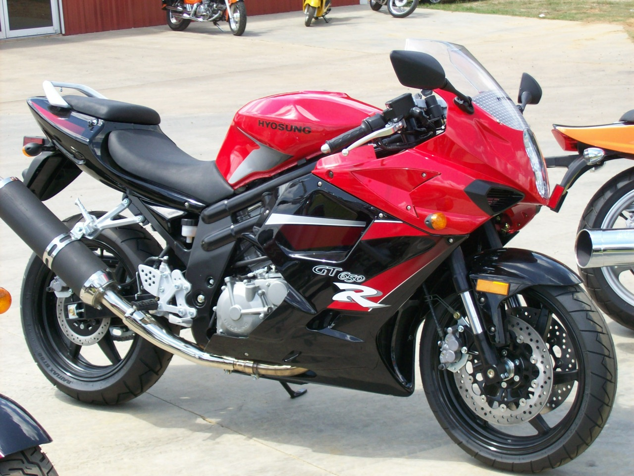 Hyosung gt250 photo - 1