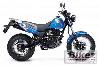 Hyosung rt125d photo - 1