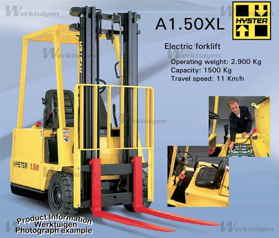 Hyster 1.50 photo - 2