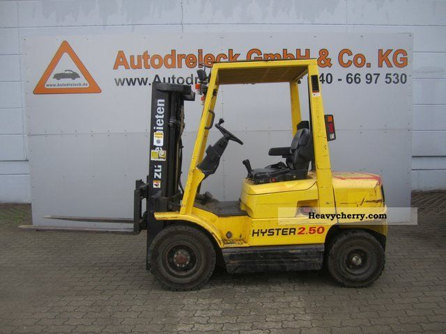 Hyster 2.50 photo - 2