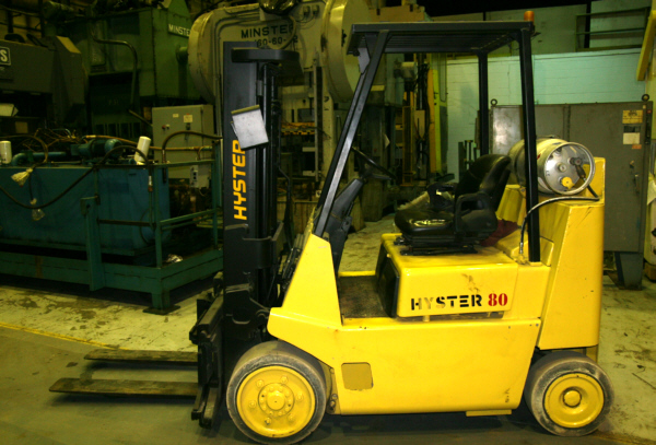 Hyster spacesaver photo - 3