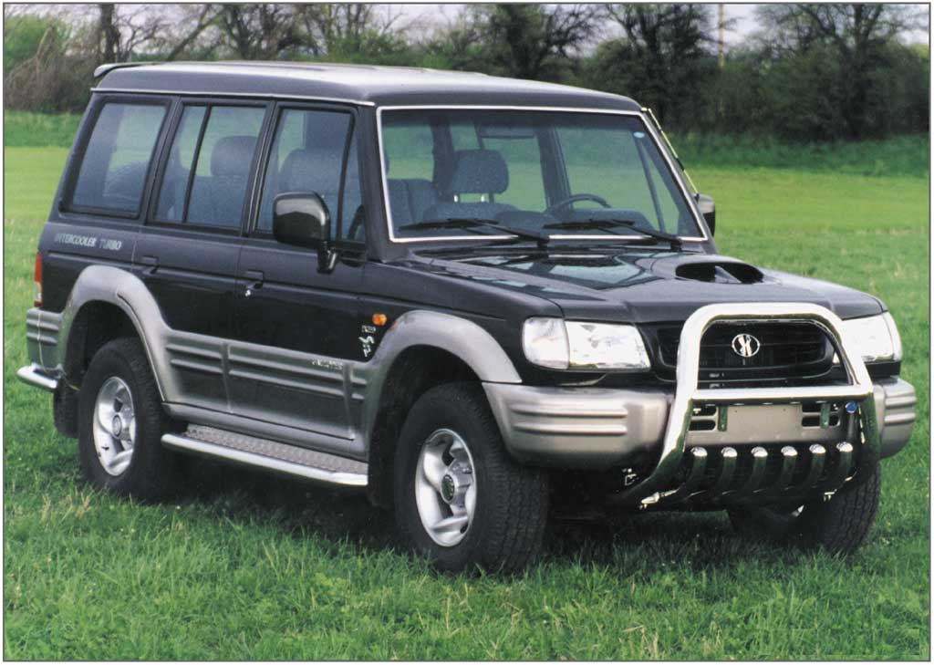 Hyundai galloper photo - 2