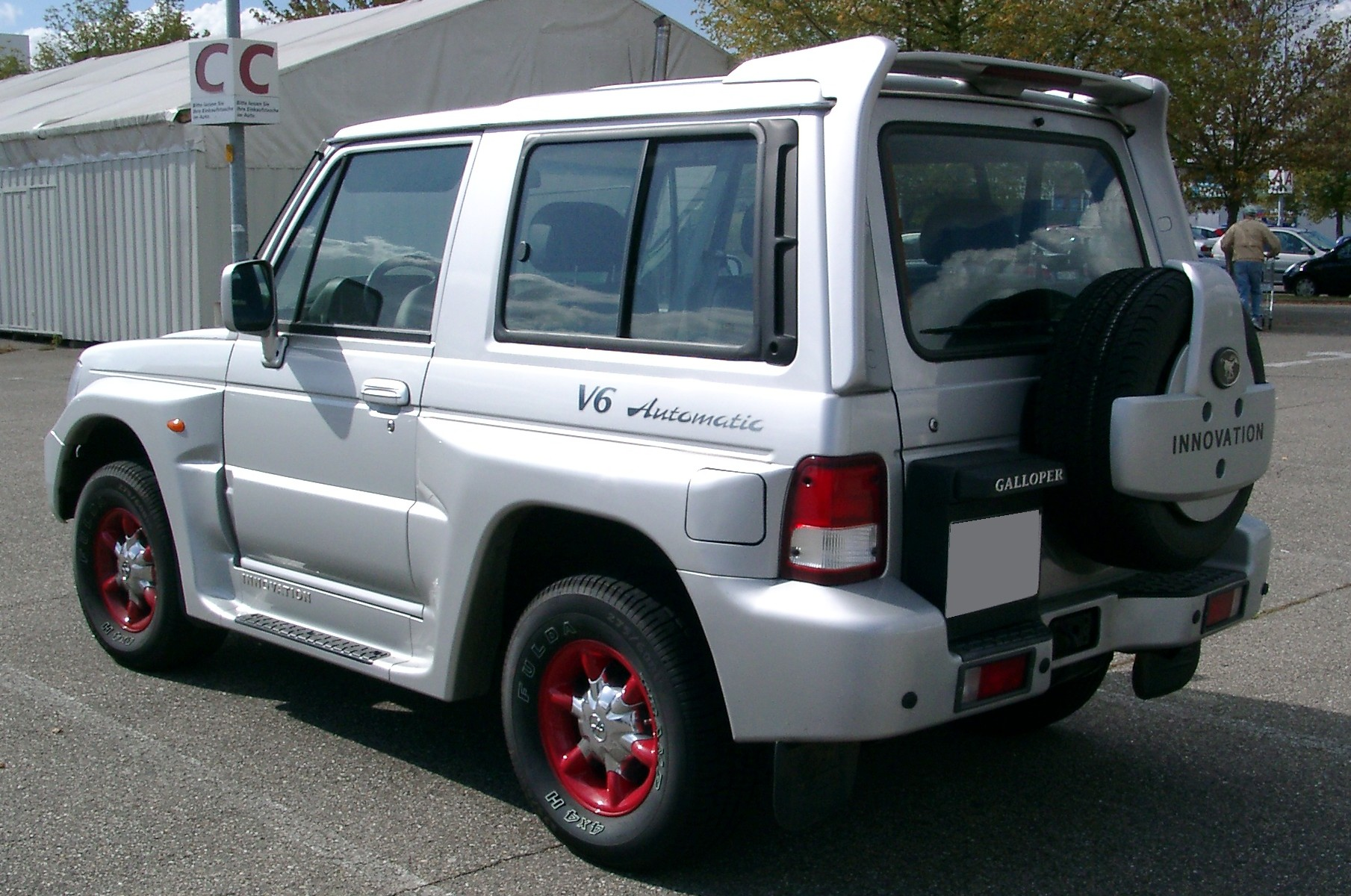 Hyundai galloper photo - 3