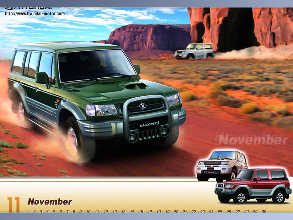 Hyundai galloper photo - 4