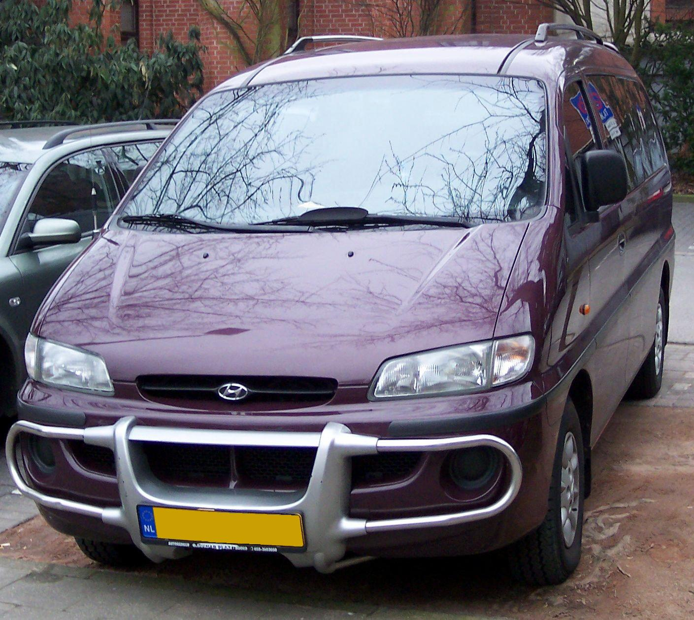 Hyundai h-1 photo - 4