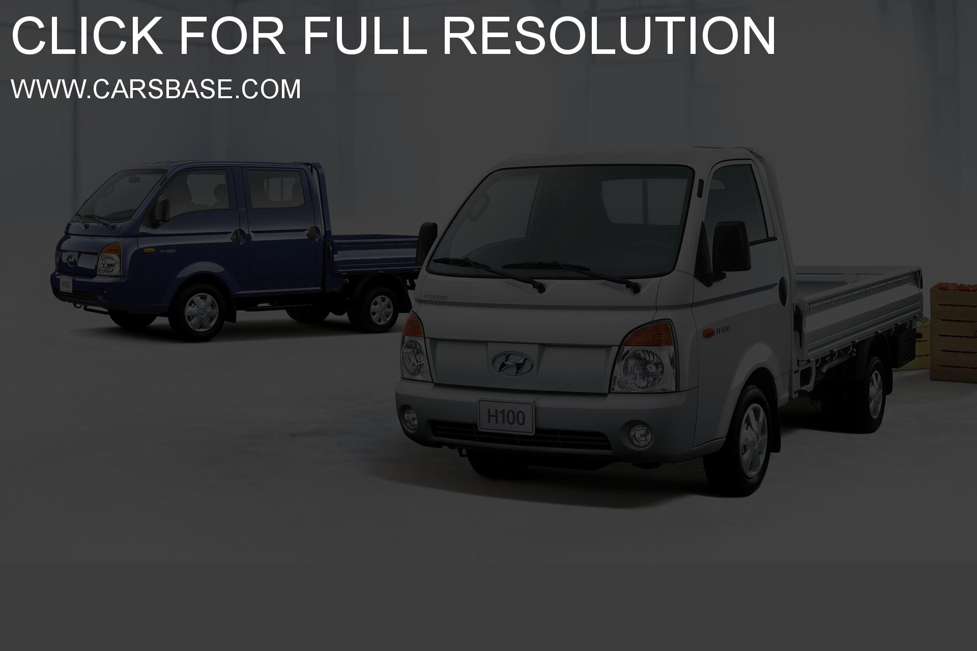 Hyundai h100 photo - 2