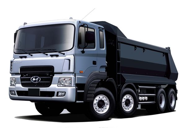 Hyundai hd-370 photo - 2