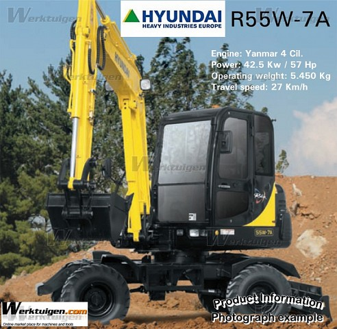Hyundai robex photo - 1