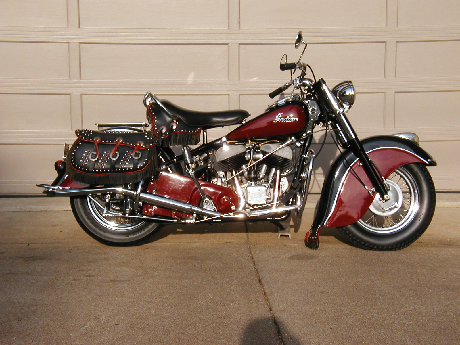 Indian scout photo - 1