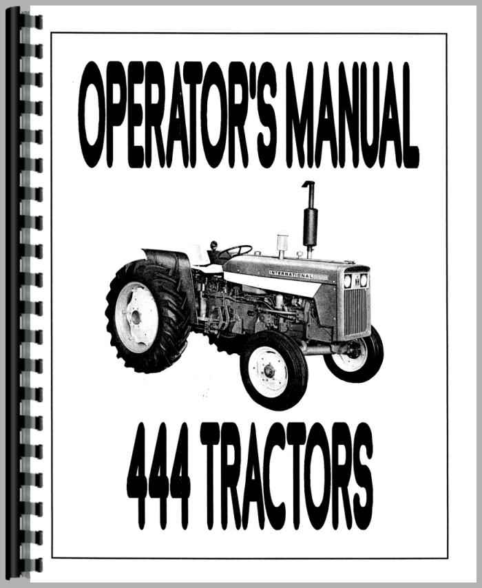 International harvester 444 photo - 3