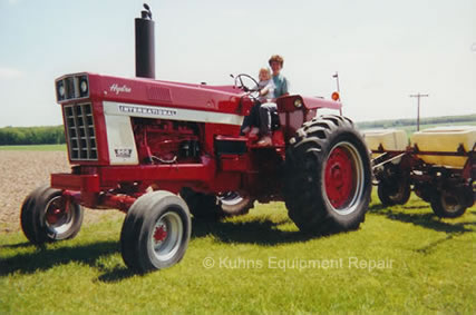 International harvester 966 photo - 1