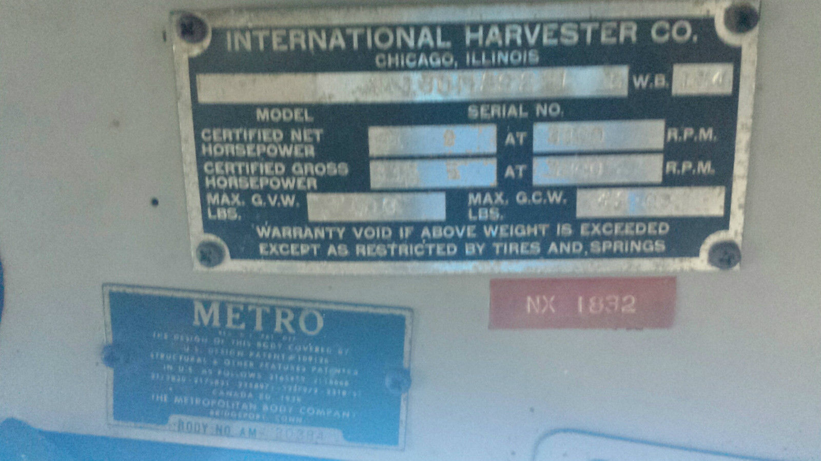 International harvester metro photo - 3