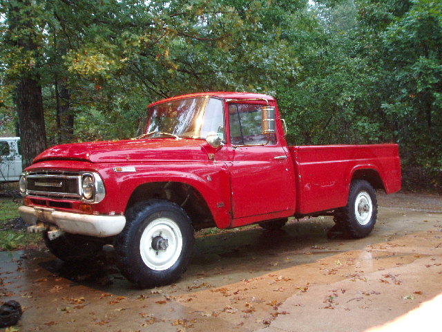 International harvester pick-up photo - 1