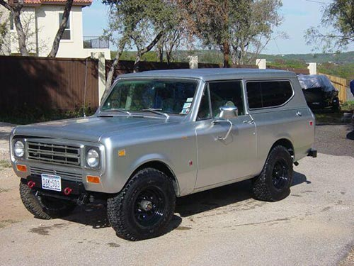 International harvester scout photo - 1