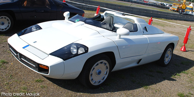 Isdera spyder photo - 2