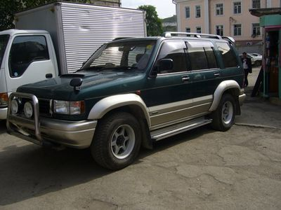 Isuzu bighorn photo - 2