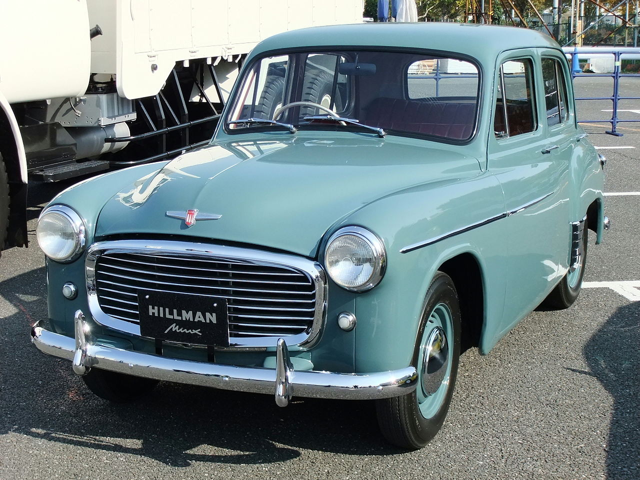 Isuzu hillman photo - 1