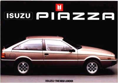 Isuzu piazza photo - 3