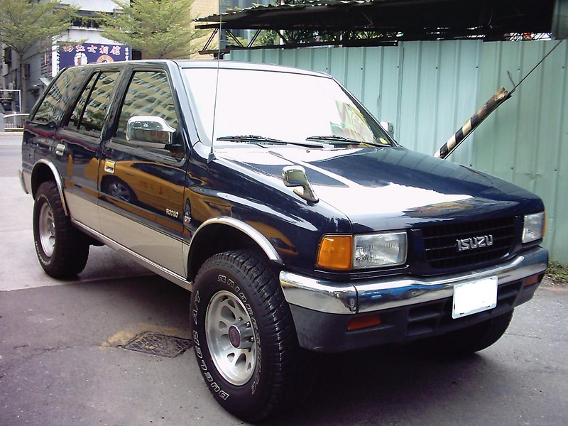Isuzu rodeo photo - 1