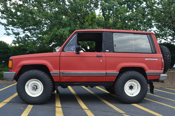 Isuzu trooper photo - 2