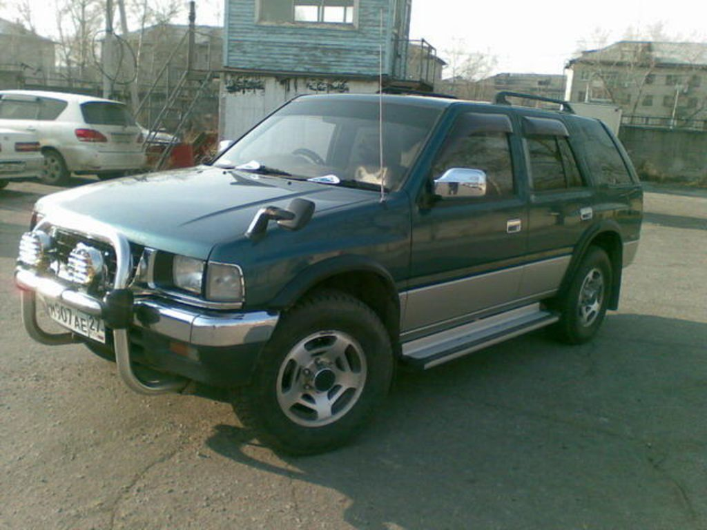 Isuzu wizard photo - 2
