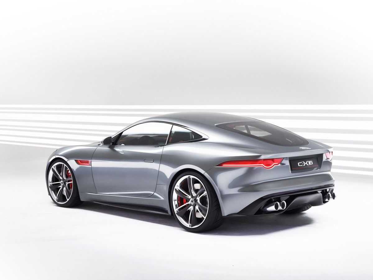 Jaguar c-x16 photo - 4