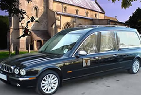 Jaguar hearse photo - 1