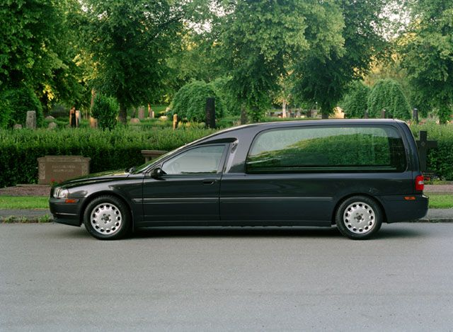 Jaguar hearse photo - 2