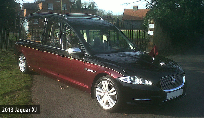 Jaguar hearse photo - 4