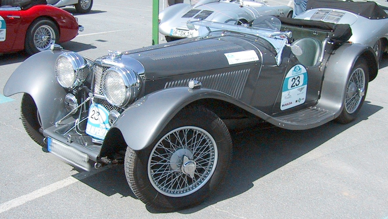 Jaguar ss100 photo - 1