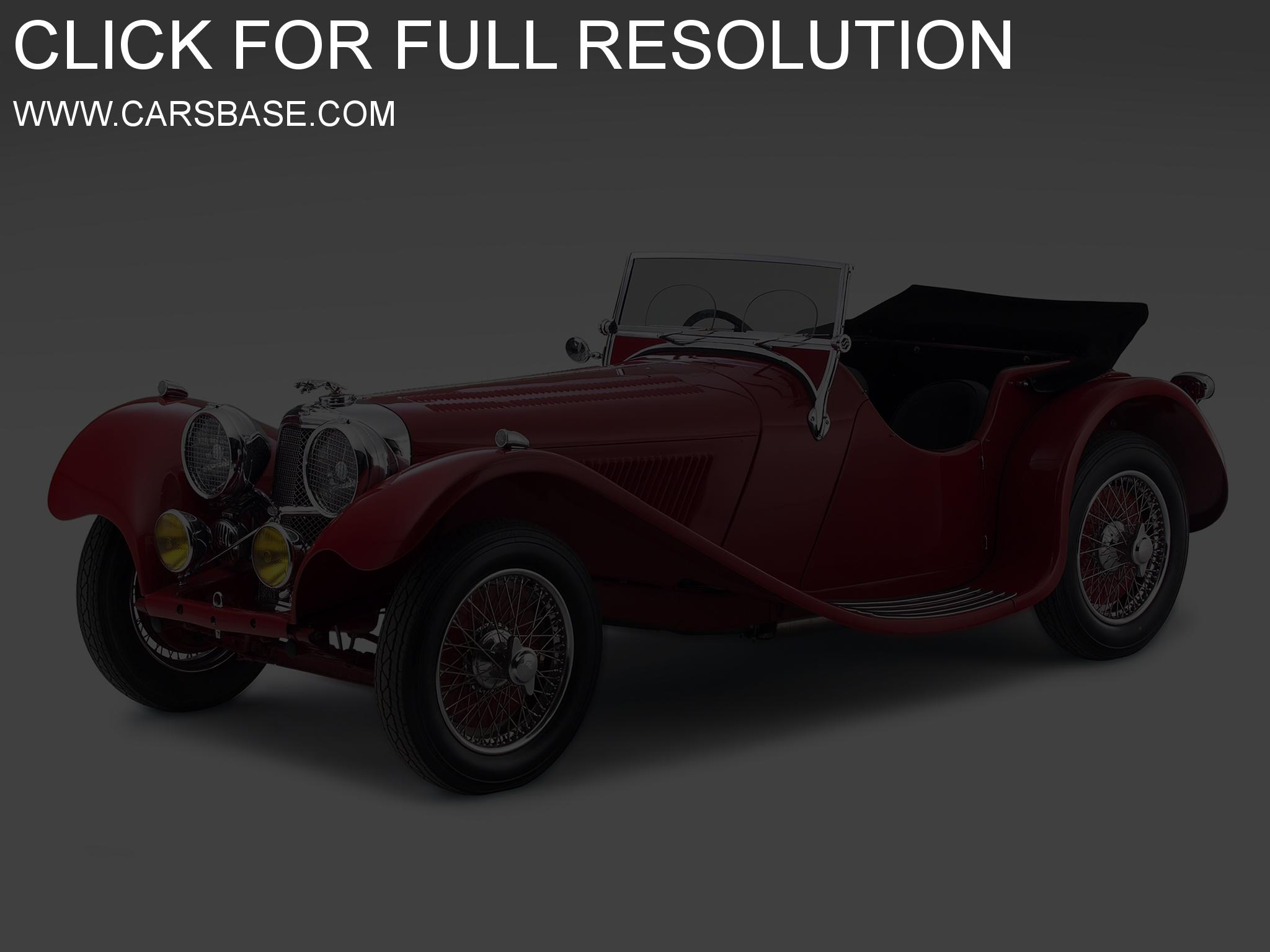 Jaguar ss100 photo - 2