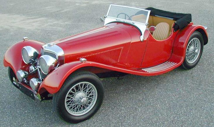 Jaguar ss100 photo - 3