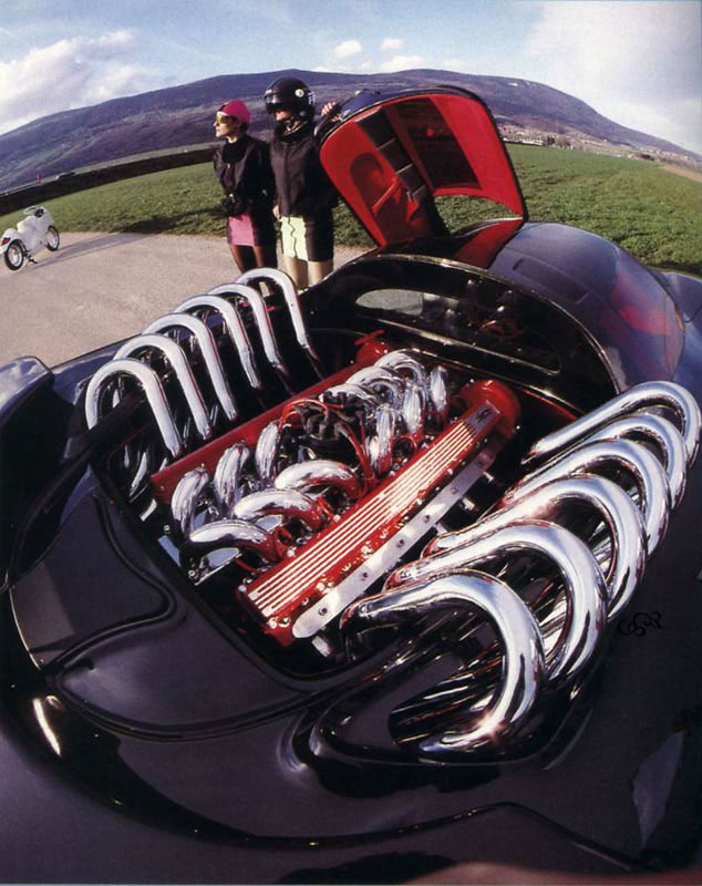 Jaguar v12 photo - 4