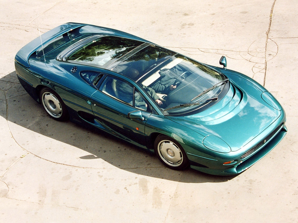 Jaguar xj220 photo - 1