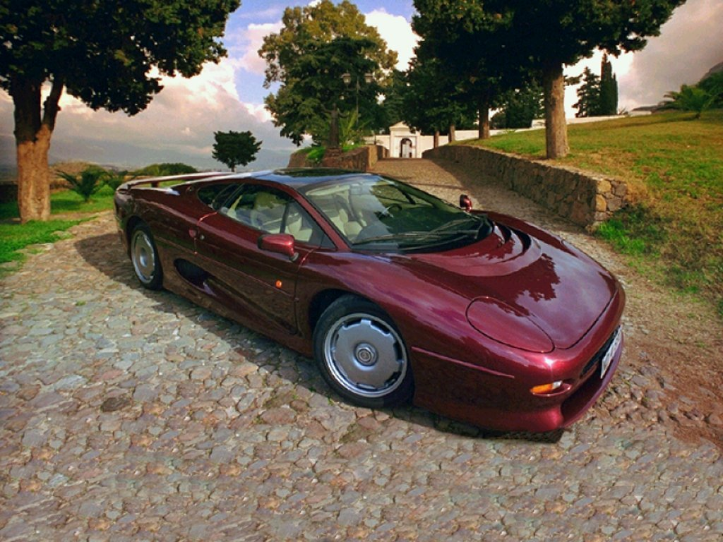 Jaguar xj220 photo - 4